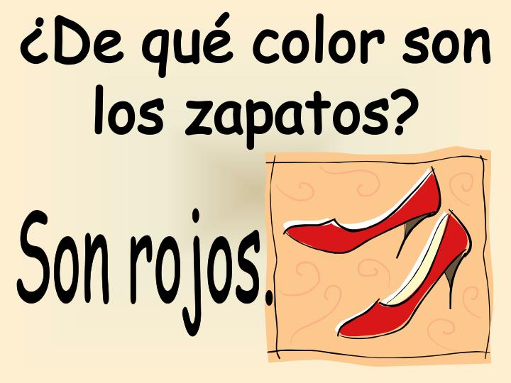 ¿De qué color son