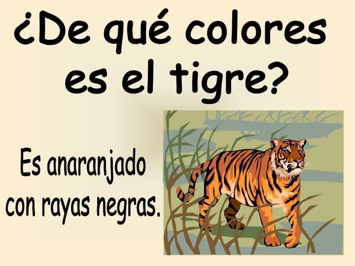 ¿De qué colores