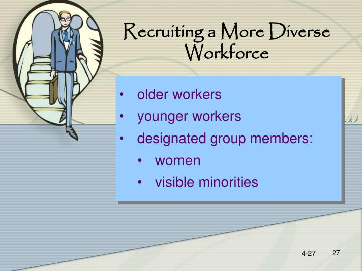 Recruiting a More Diverse Workforce