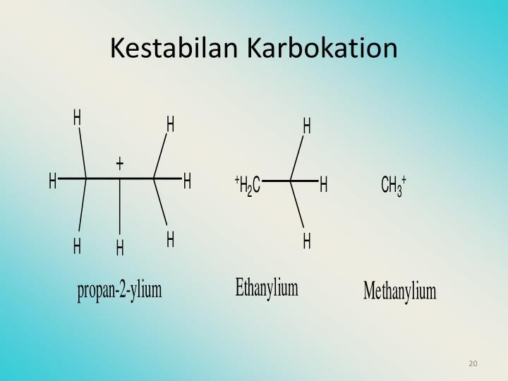 Kestabilan Karbokation