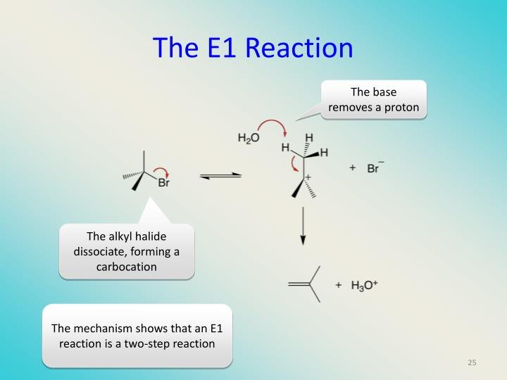 The E1 Reaction