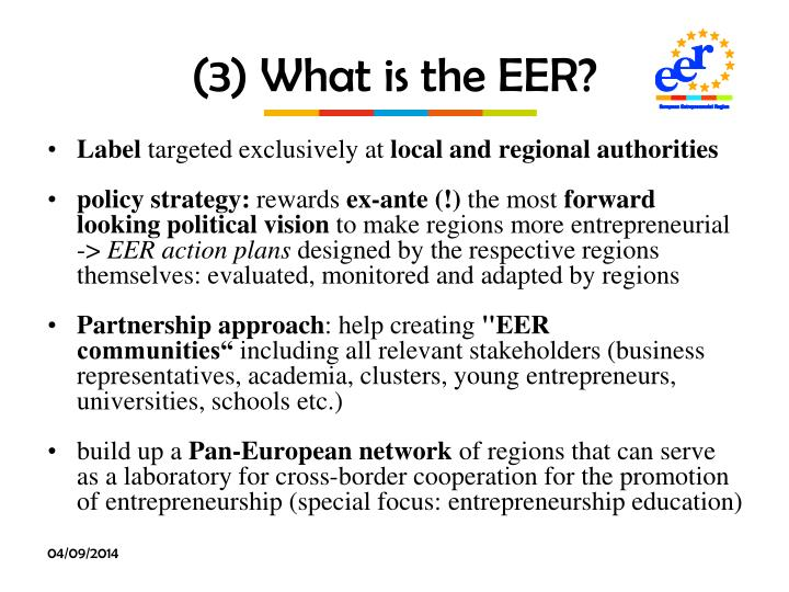 (3) What is the EER?