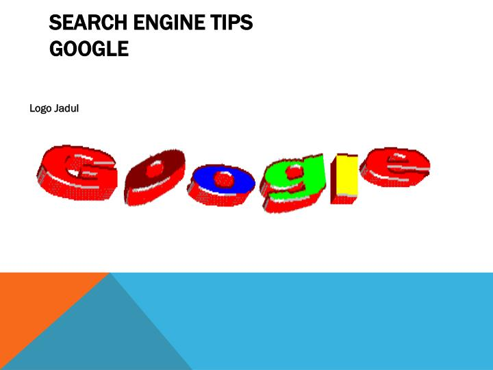 Search engine tips google