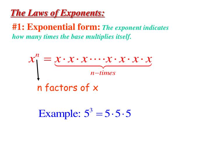 how to put exponents in powerpoint