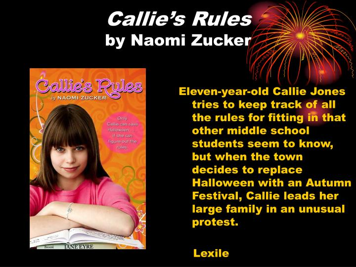 Callie's Rules