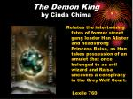 the demon king by cinda chima