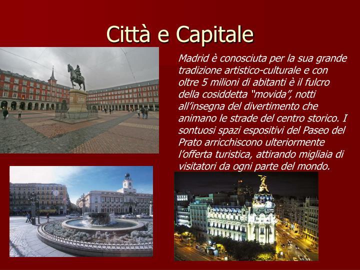 Città e Capitale