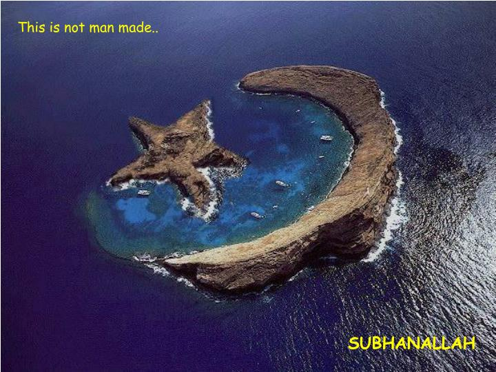 This is not man made..
