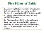 five pillars of faith1