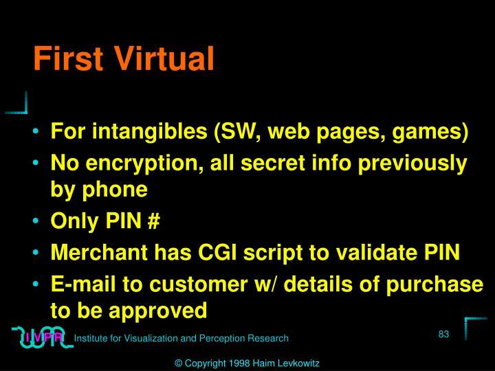 First Virtual