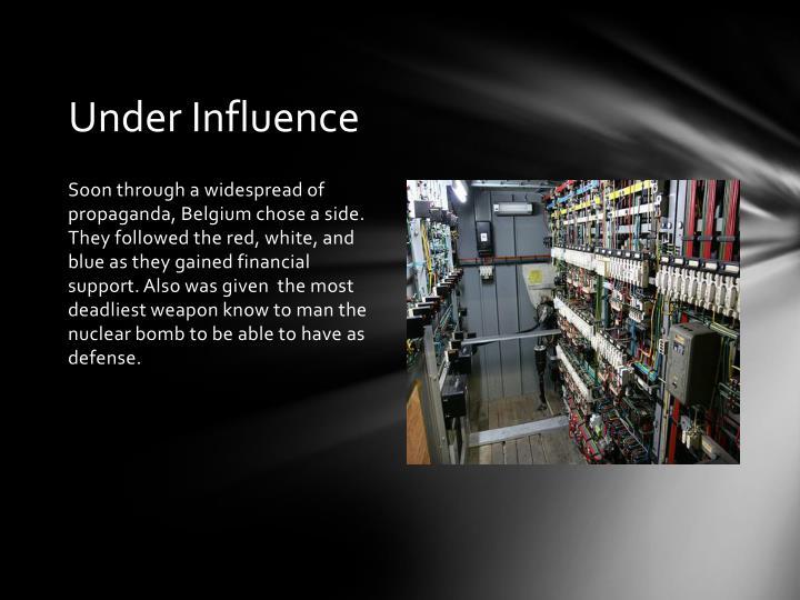 Under Influence