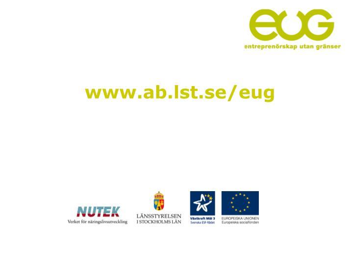 www.ab.lst.se/eug