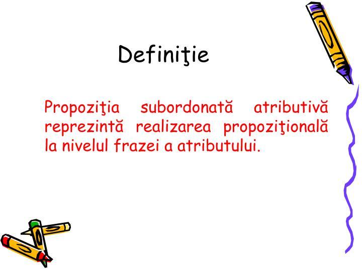Definiţie