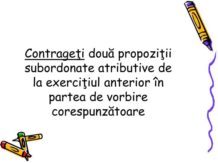 Contrageţi