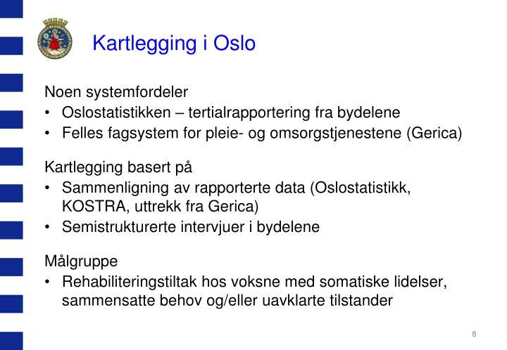 Kartlegging i Oslo