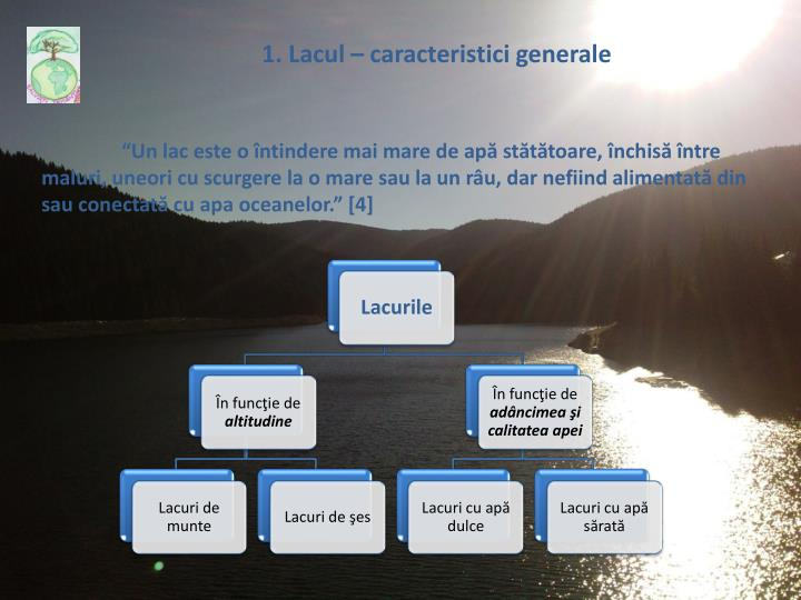 1. Lacul –