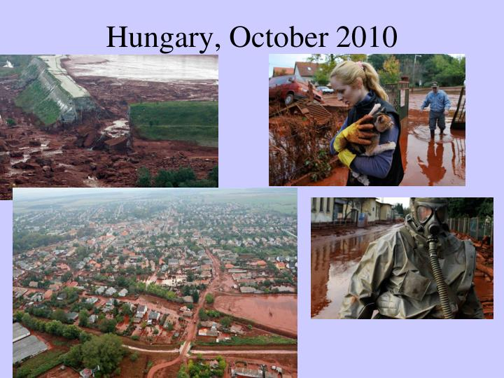 Hungary, October 2010