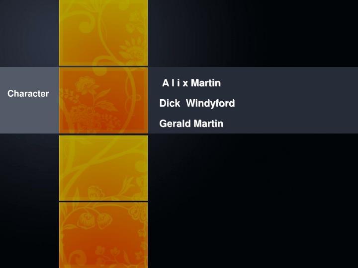 A l i x Martin
