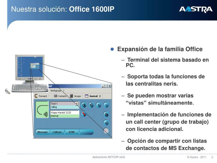 Nuestra soluci n office 1600ip