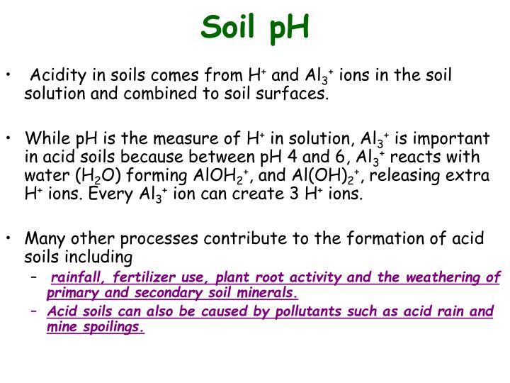 Soil pH