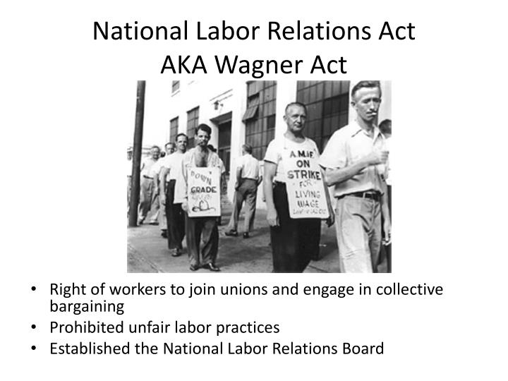national labor relations act Indeed, the national labor relations board (nlrb) had even ruled in 2012 that joining together in a class action was a form of concerted activity that was protected by the nlra (and subsequently reaffirmed this proposition through its numerous decisions issued in the years following.