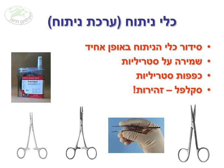 כלי ניתוח (ערכת ניתוח)