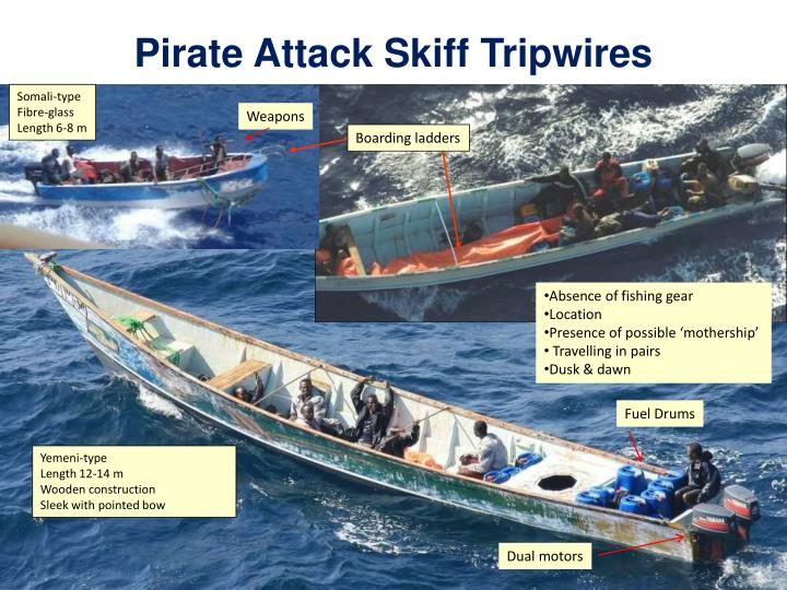 Pirate Attack Skiff Tripwires