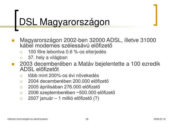 DSL Magyarországon