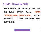 2 data flow analysis