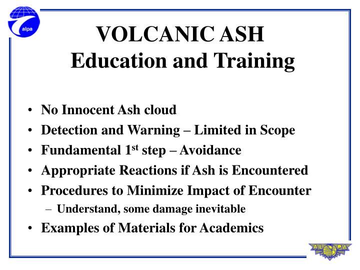 No Innocent Ash cloud