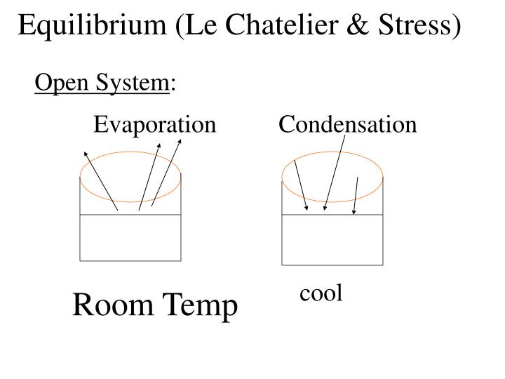 Equilibrium (Le Chatelier & Stress)