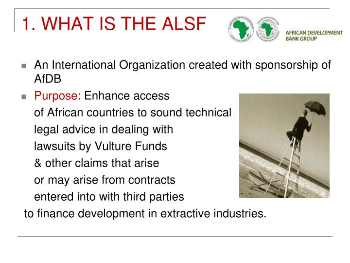 An International Organization created with sponsorship of AfDB