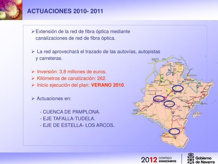 ACTUACIONES 2010- 2011