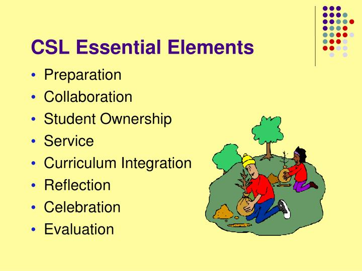 CSL Essential Elements