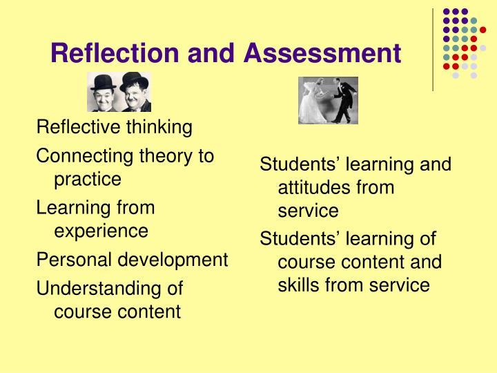 Reflection and Assessment