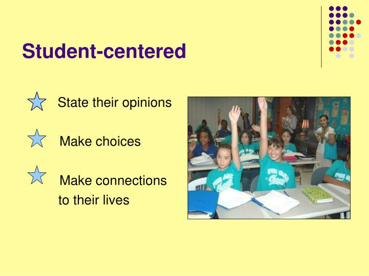 Student-centered