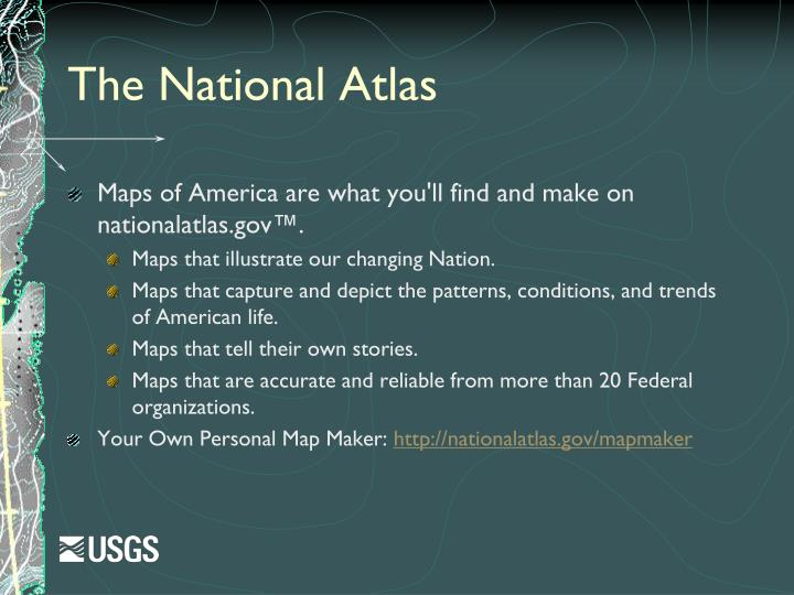 The National Atlas