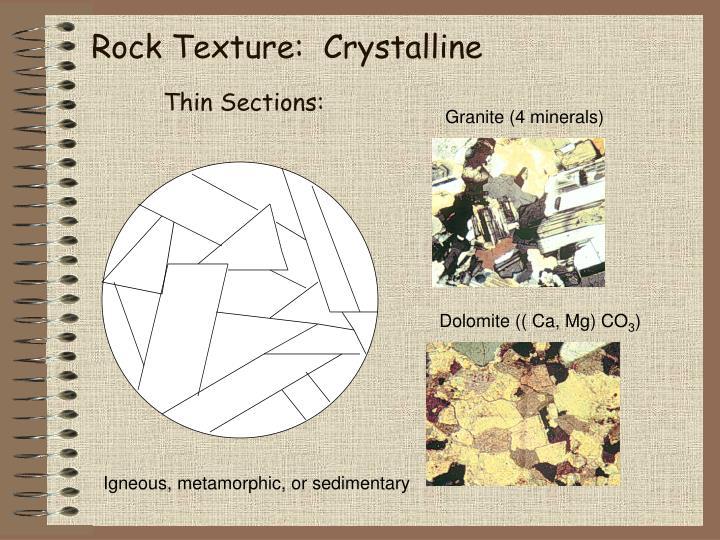 Granite (4 minerals)