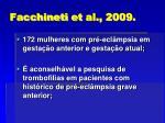 facchineti et al 2009