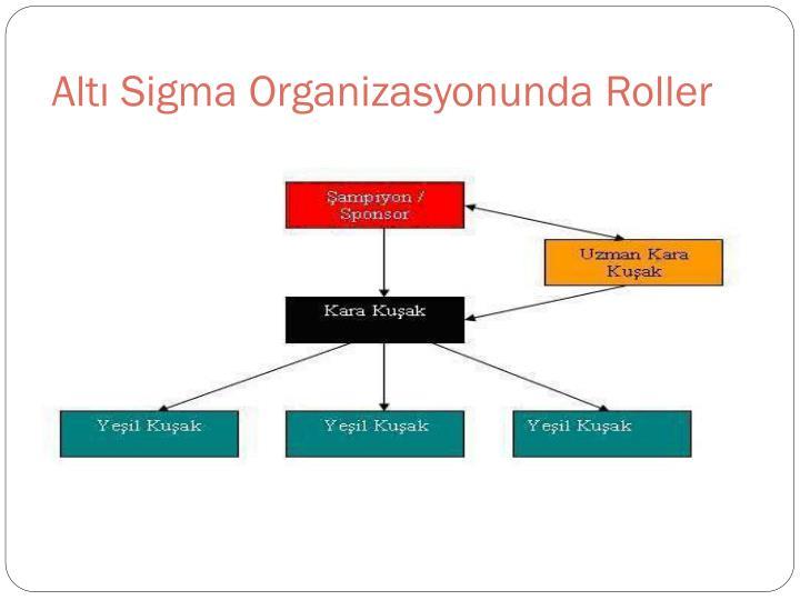 Altı Sigma Organizasyonunda Roller