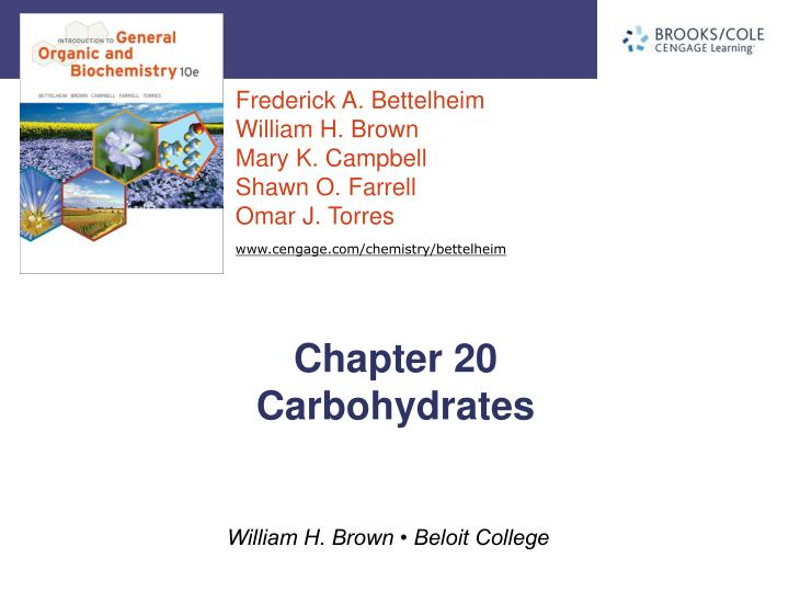 Chapter 20 carbohydrates
