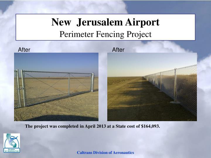 New  Jerusalem Airport