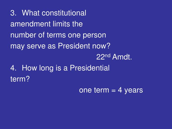 What constitutional