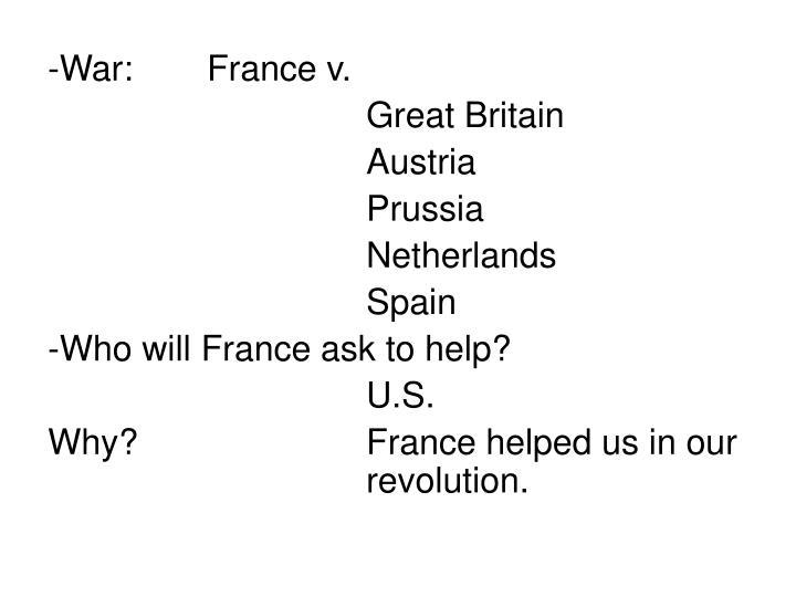 -War:France v.