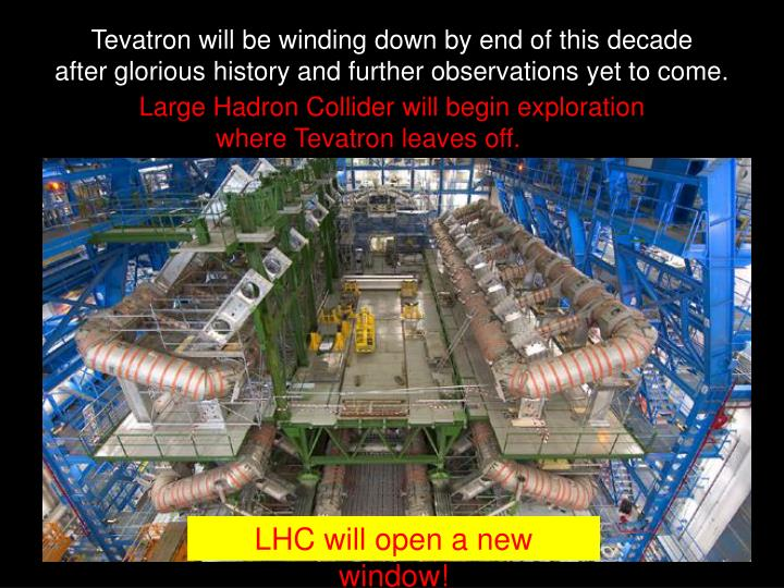 Tevatron will be winding down by end of this decade