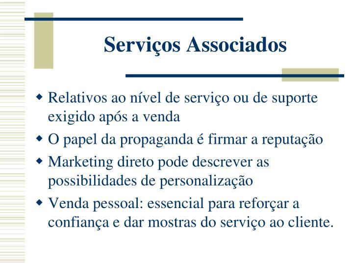 Serviços Associados