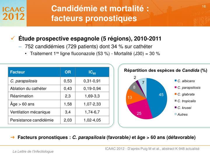 Étude prospective espagnole (5 régions), 2010-2011
