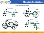 metadata replication