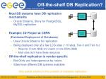 off the shelf db replication