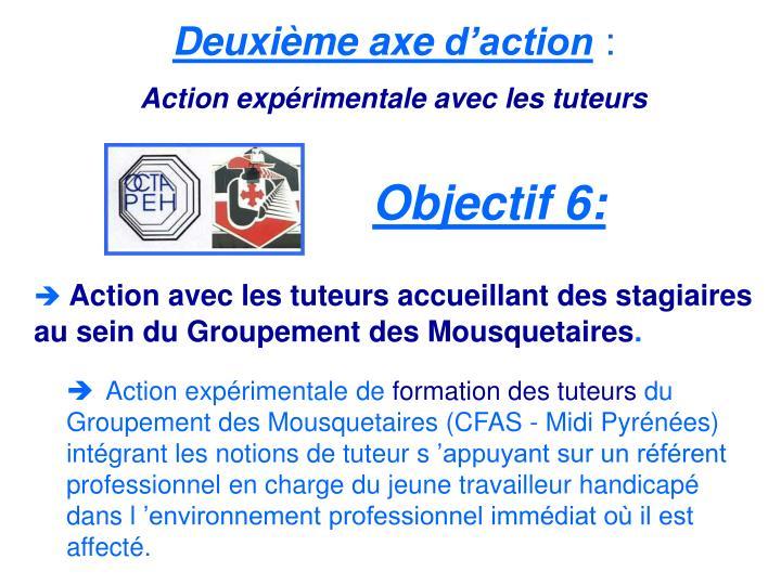 Deuxième axed'action